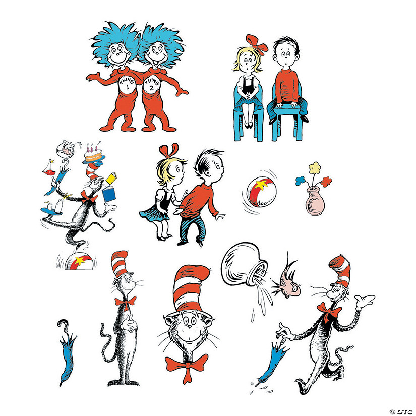 Dr. Seuss™ Character Bulletin Board Cutouts Audio Thumbnail