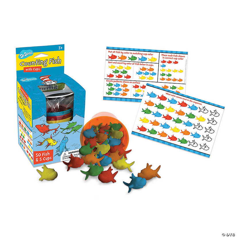 Dr. Seuss™ Counting Fish - Qty 2