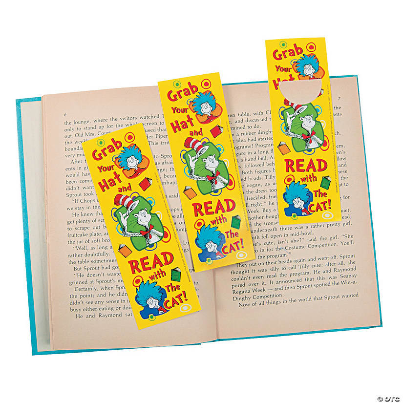 Dr. Seuss™ Grab Your Hat Bookmarks Audio Thumbnail