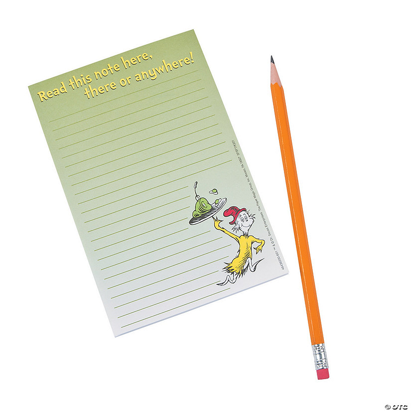 Dr. Seuss™ Green Eggs & Ham Notepad