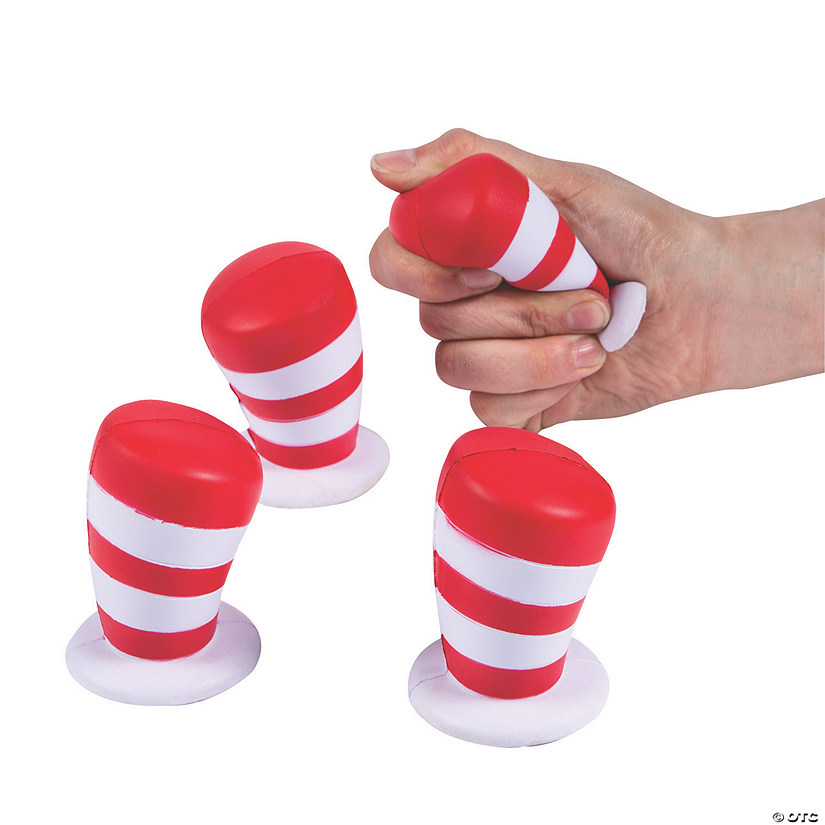 Dr. Seuss™ Hat Stress Toys Audio Thumbnail
