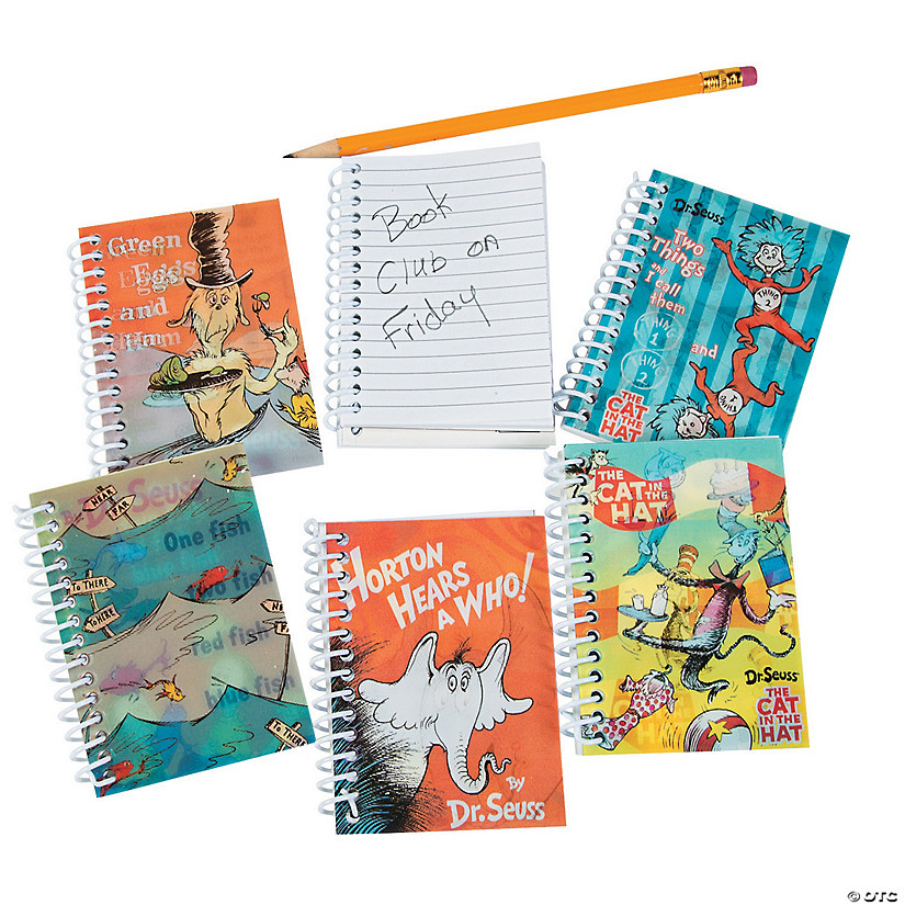 Dr. Seuss™ Hologram Spiral Notebooks Audio Thumbnail
