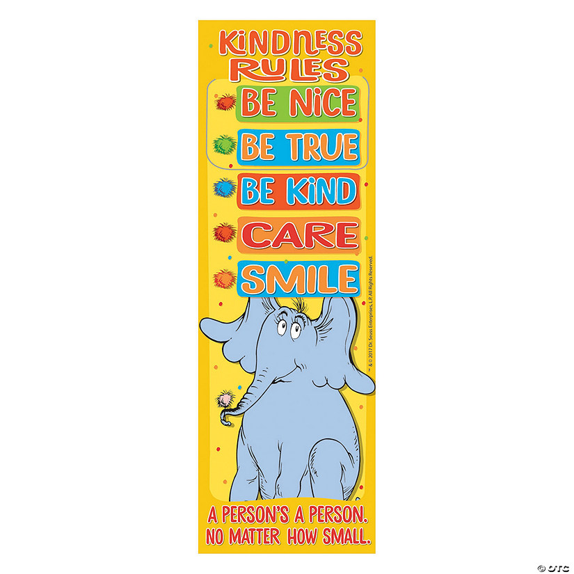 Dr. Seuss™ Horton Hears a Who™ Kindness Rules Bookmarks Audio Thumbnail