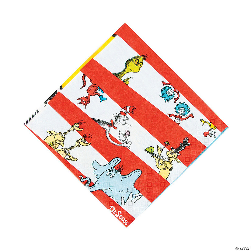 Dr. Seuss™ Luncheon Napkins Audio Thumbnail