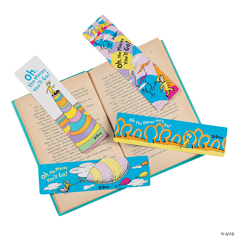 Dr. Seuss™ Oh, the Places You'll Go Bookmark Assortment Audio Thumbnail