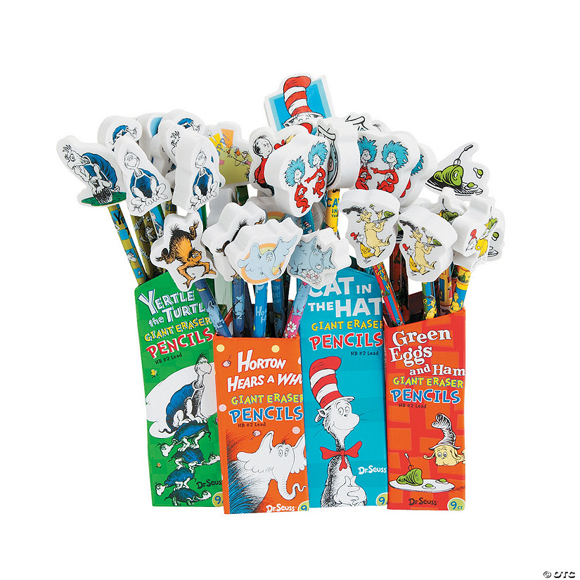 Dr. Seuss™ Pencils with Topper Audio Thumbnail