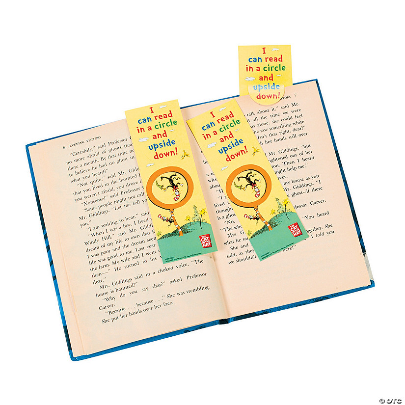 "Dr. Seuss™ ""Read Upside Down!"" Bookmarks Audio Thumbnail"