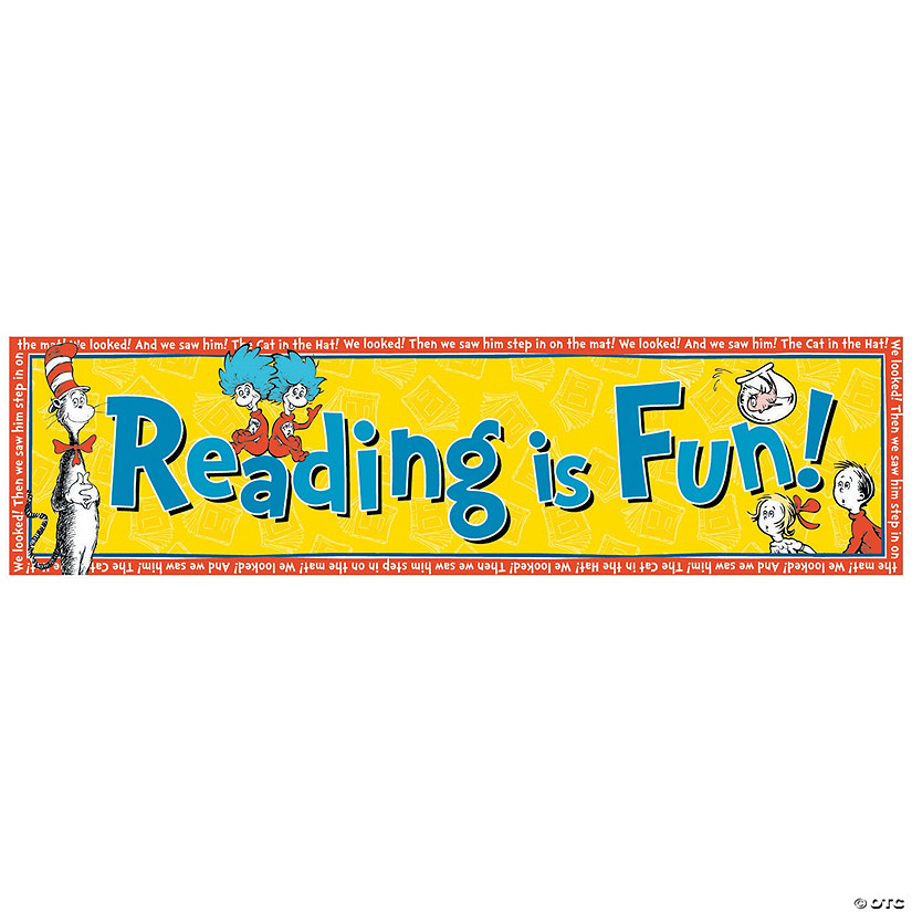 Dr. Seuss™ Reading is Fun Banner Audio Thumbnail