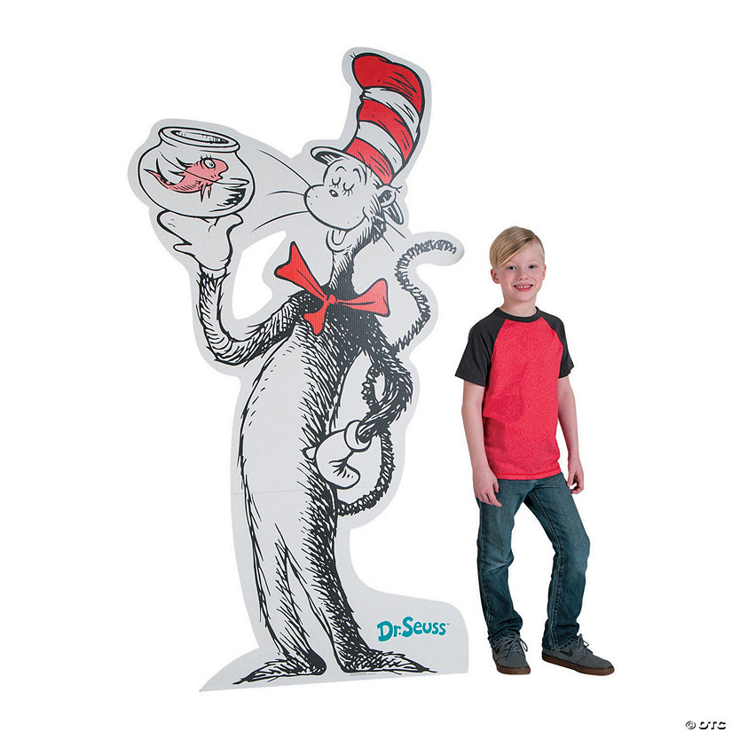 Dr. Seuss™ The Cat in the Hat™ Cardboard Stand-Up