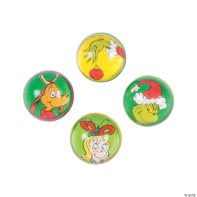 Dr. Seuss™ The Grinch Bouncy Balls Audio Thumbnail