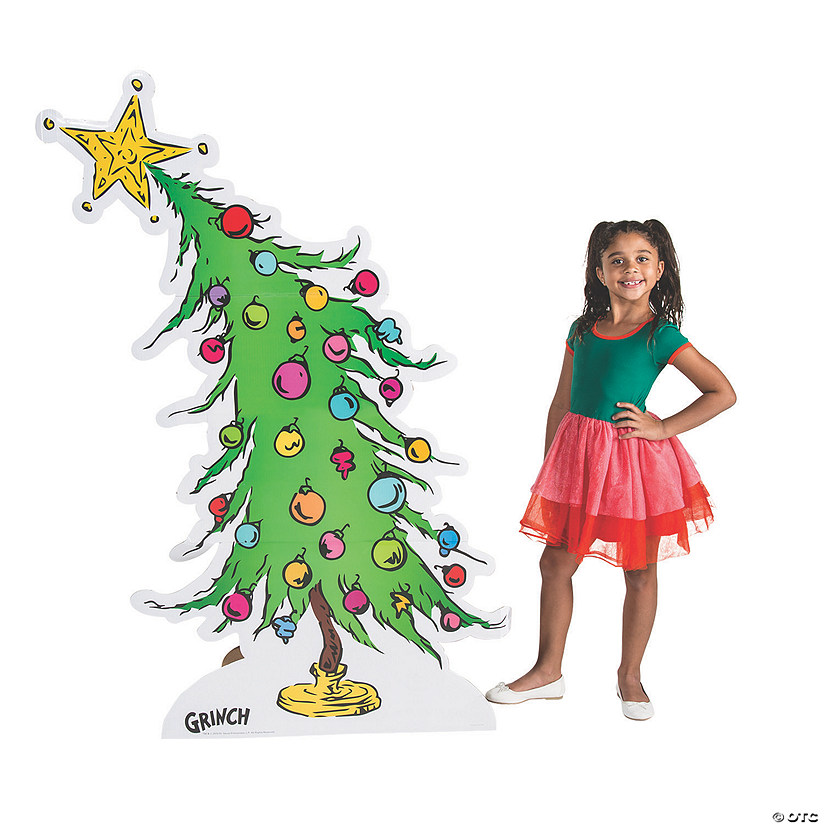 Dr. Seuss™ The Grinch Christmas Tree Cardboard Stand-Up Audio Thumbnail