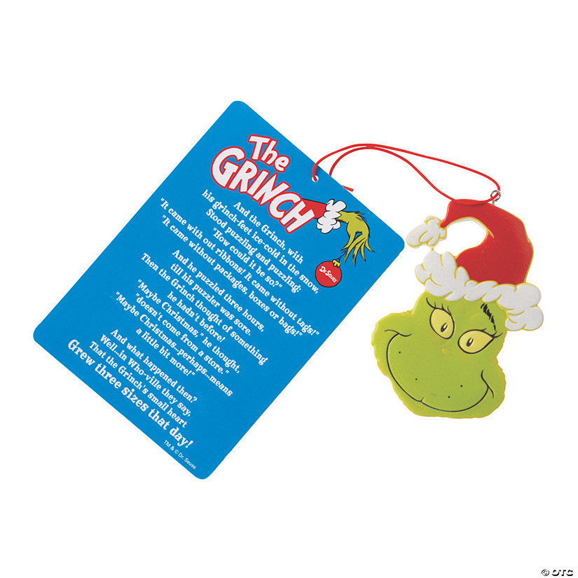 Dr. Seuss™ The Grinch Legend Ornaments Audio Thumbnail