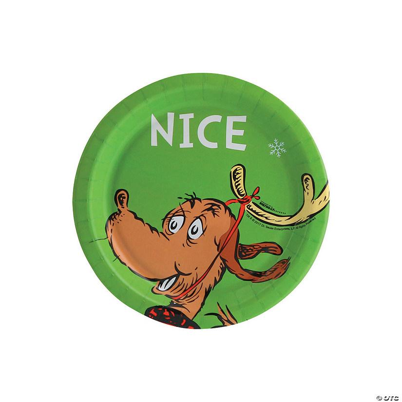 Dr Seuss The Grinch Nice Paper Dessert Plates