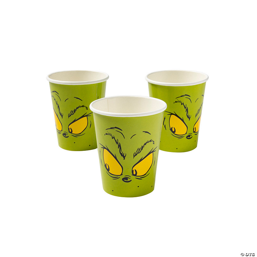 Dr. Seuss™ The Grinch Paper Cups Audio Thumbnail