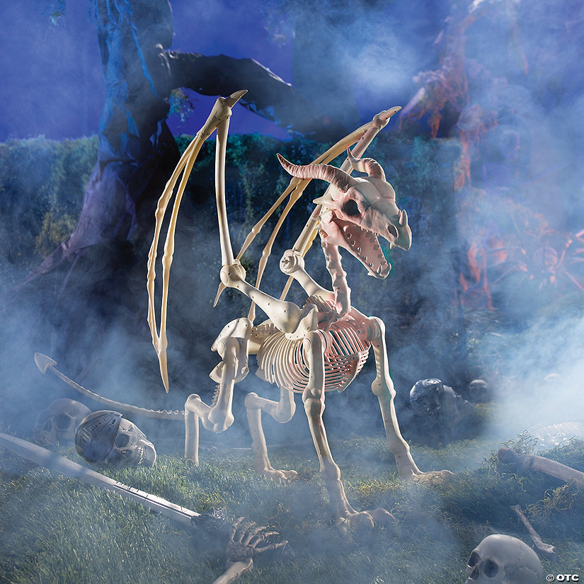 Dragon Skeleton Halloween Decoration Image Thumbnail
