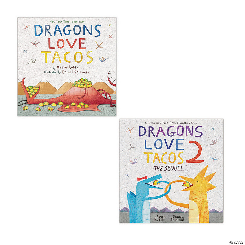 Dragons Love Tacos Book Set Audio Thumbnail