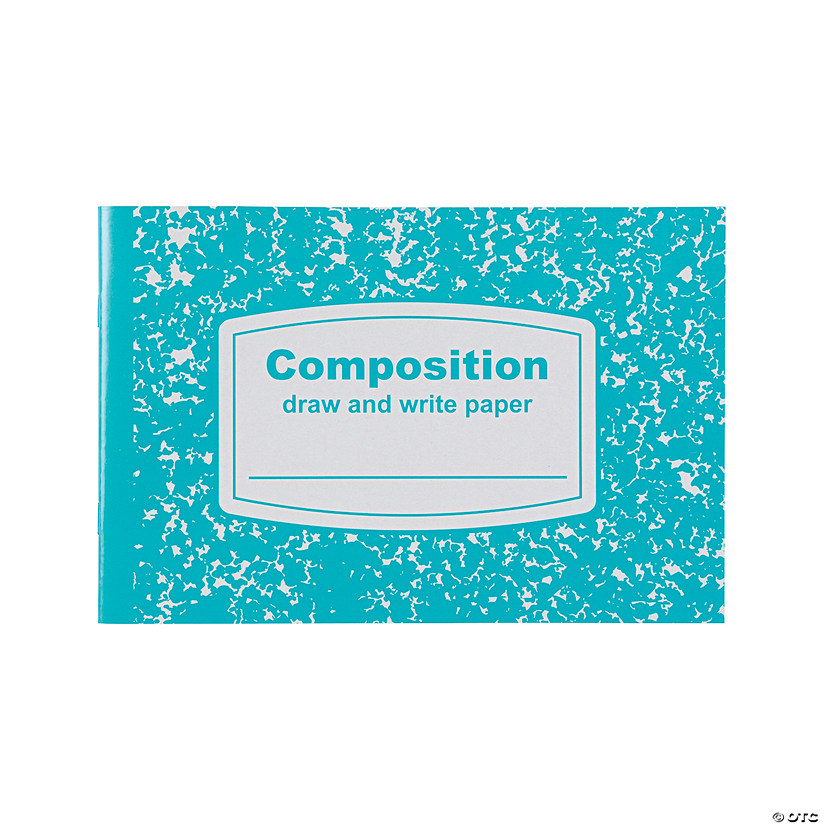 Draw & Write Half-Sized Composition Books Audio Thumbnail