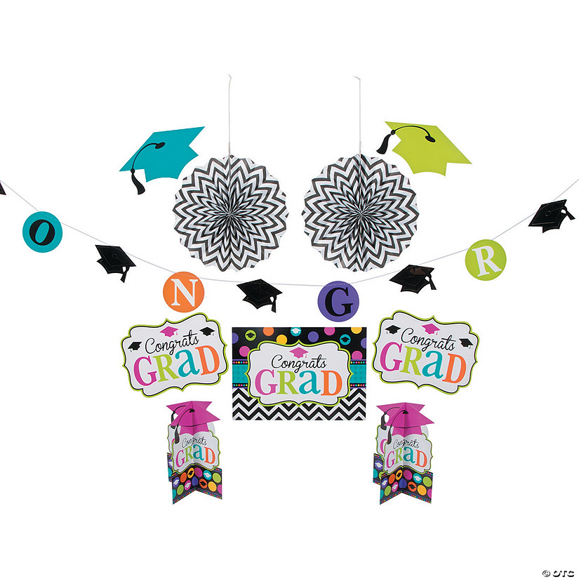 Dream Big Graduation Decorating Kit