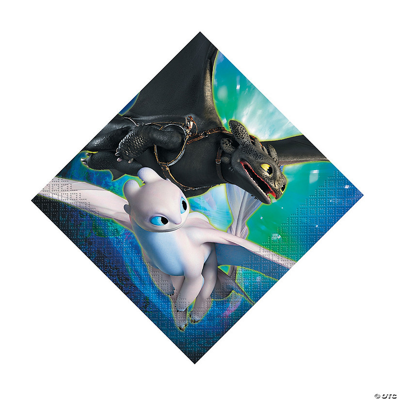 DreamWorks How To Train Your Dragon™ Luncheon Napkins Audio Thumbnail