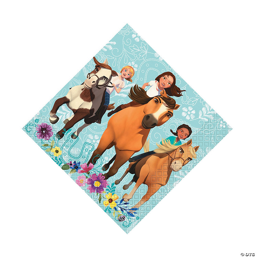 DreamWorks Spirit Riding Free™ Luncheon Napkins Audio Thumbnail