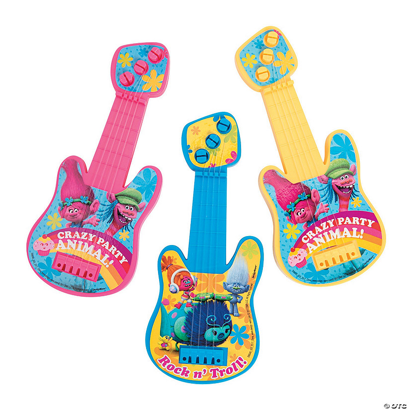 Dreamworks Trolls™ Mini Guitars