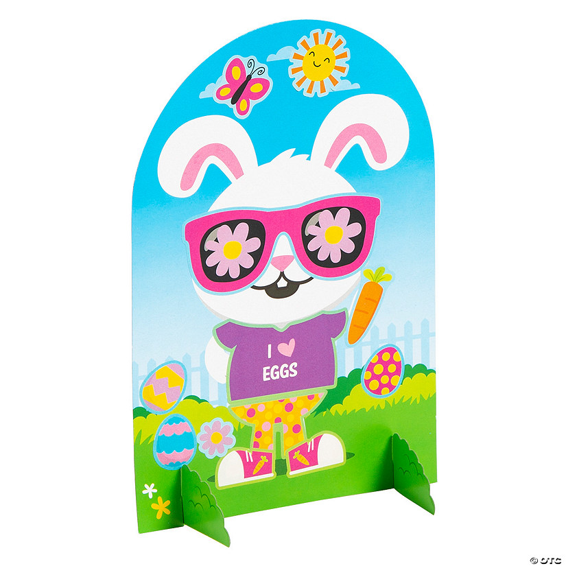 Dress-Up Easter Bunny Sticker Scenes Audio Thumbnail