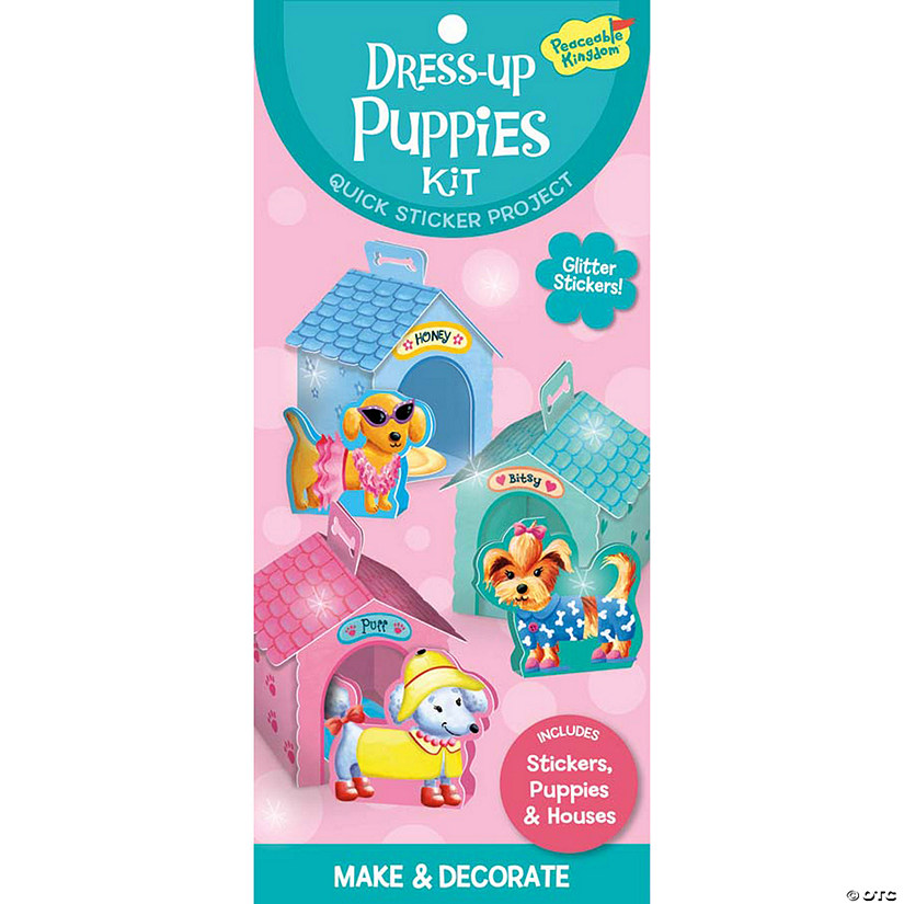 Dress Up Puppies Quick Sticker Kit Image Thumbnail