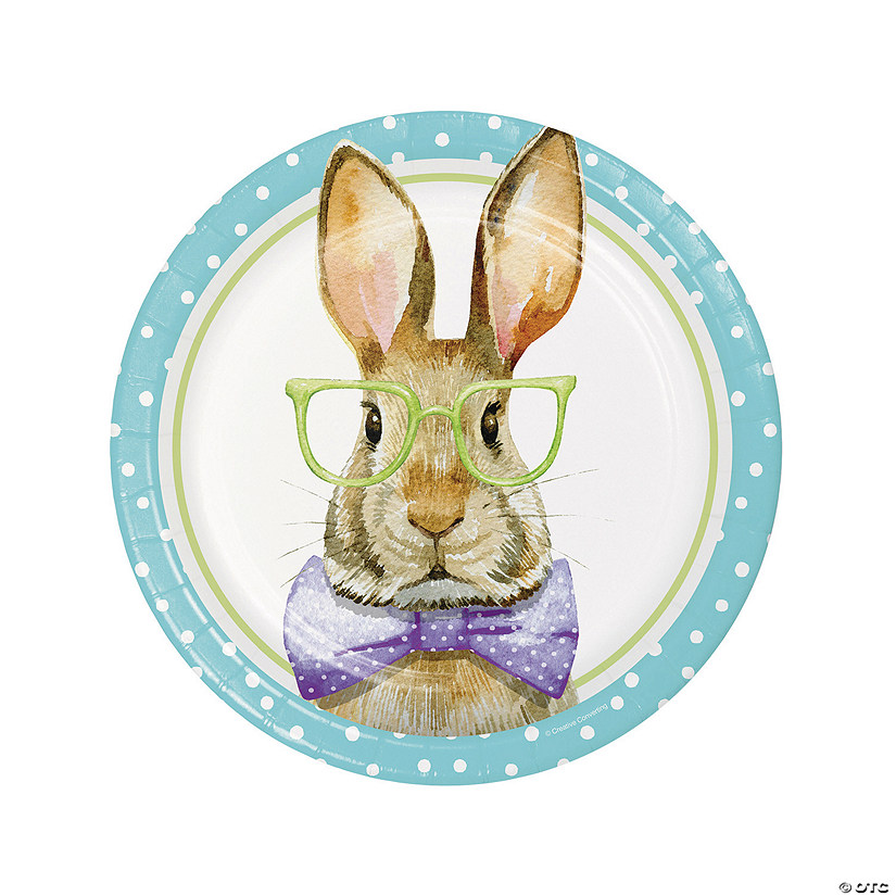Dressed for Easter Dinner Plates - 8 Ct. Audio Thumbnail