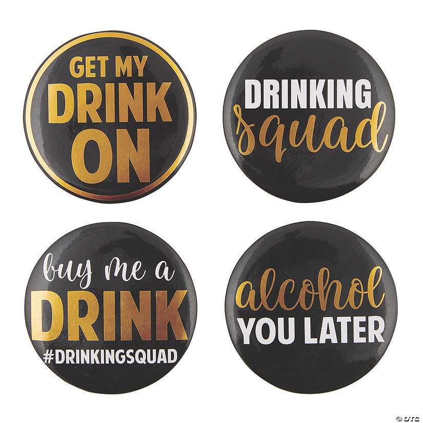 Drinking Squad Buttons Image Thumbnail