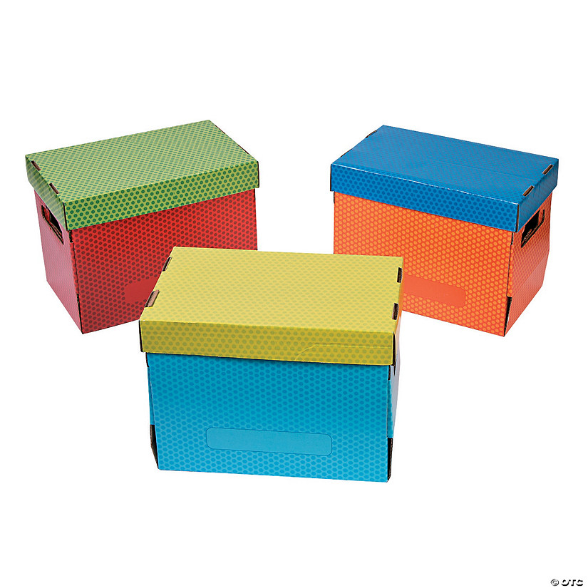 Dry Erase Board Storage Boxes with Lid