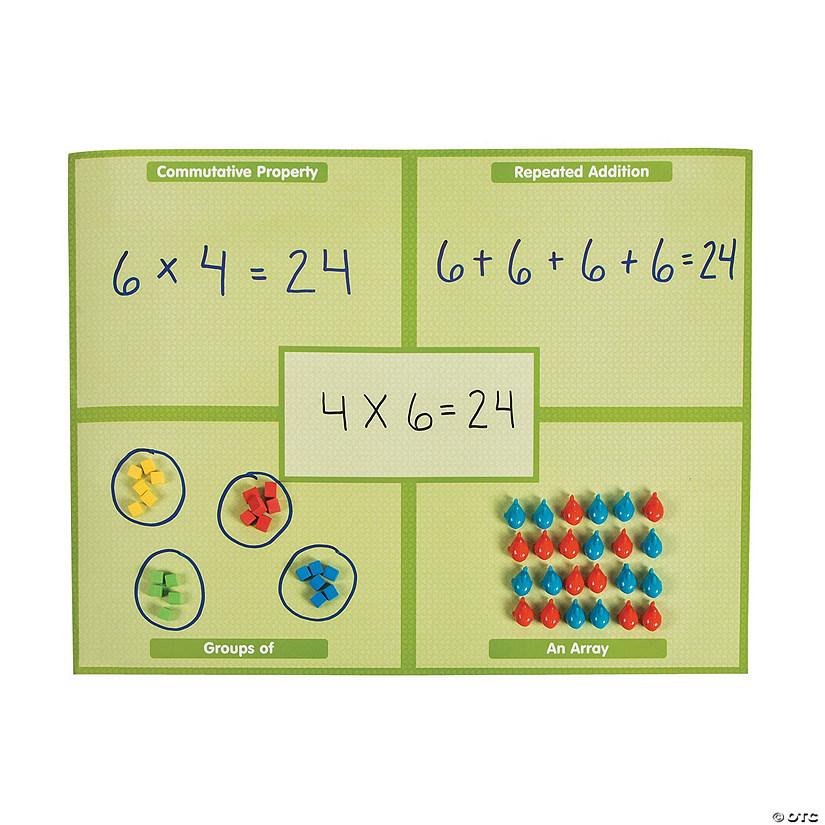 Dry Erase Multiplication Math Sheets Oriental Trading