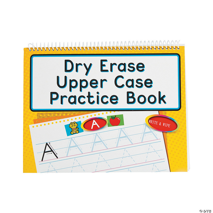 Dry Erase Uppercase Practice Books Audio Thumbnail