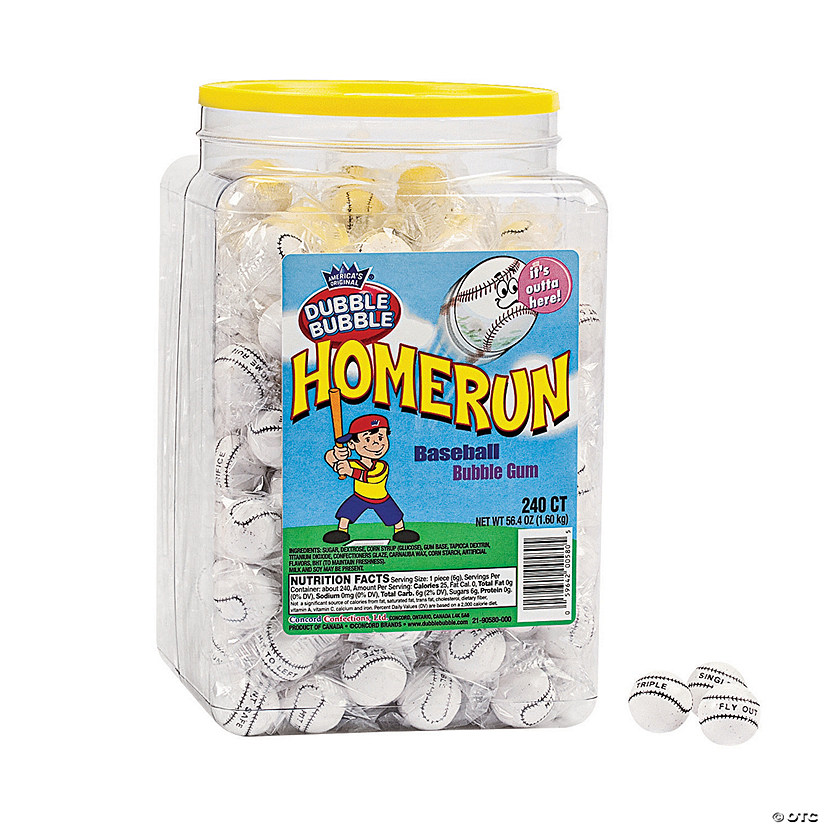 Dubble Bubble<sup>®</sup> Homerun Gumballs