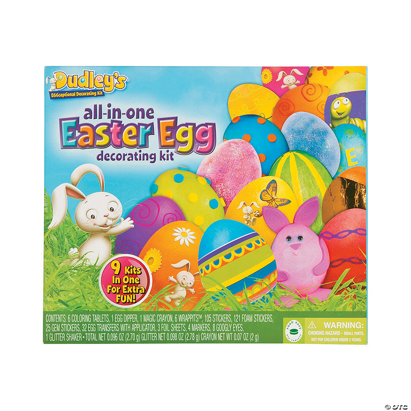 Dudley\'s ® All-In-One Easter Egg Decorating Kit