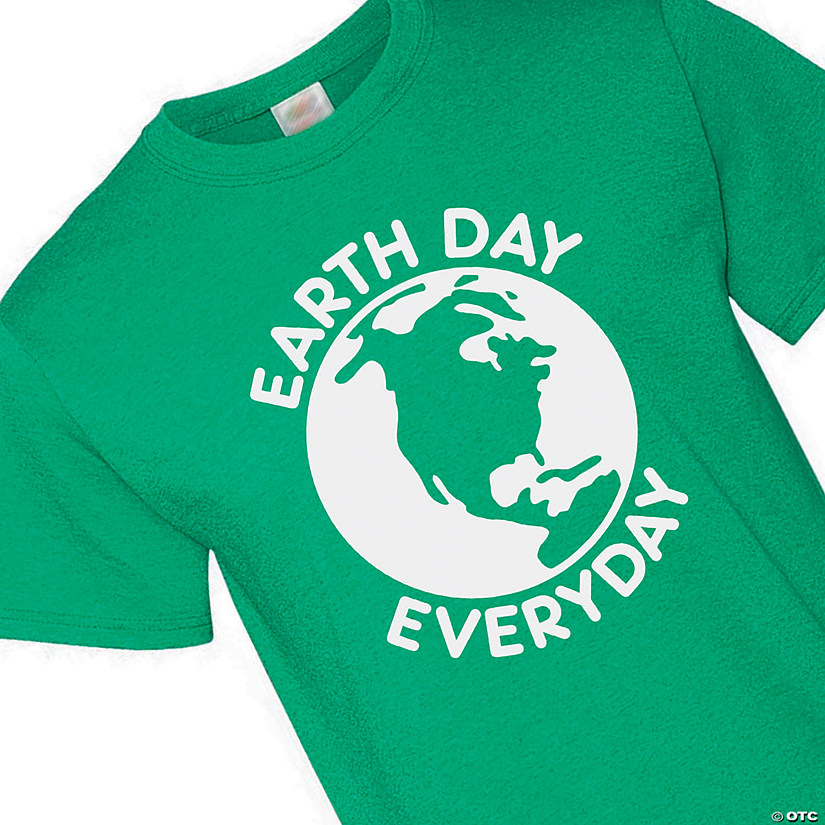 Earth Day Everyday Adult's T-Shirt Image Thumbnail