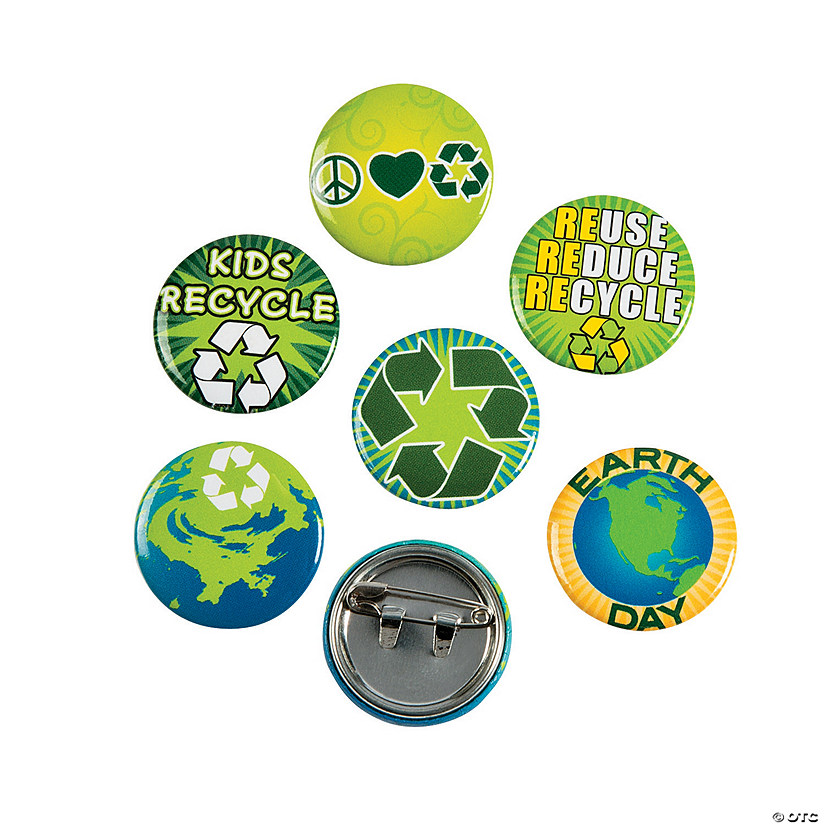 Earth Day Recycle Mini Buttons Audio Thumbnail