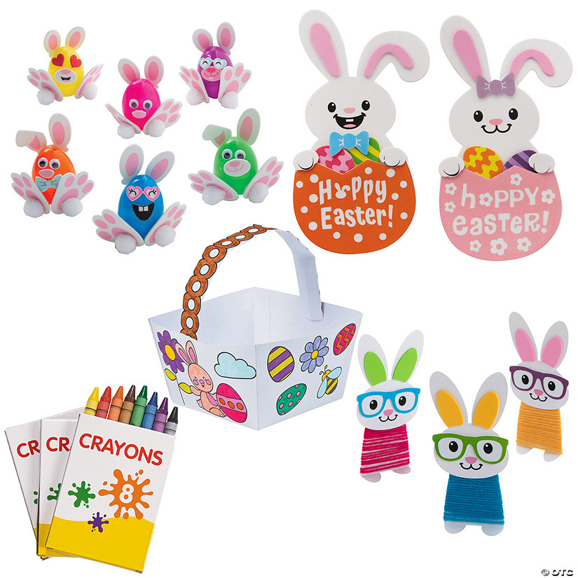 Easter Basket of Crafts Kit for 12 Image Thumbnail