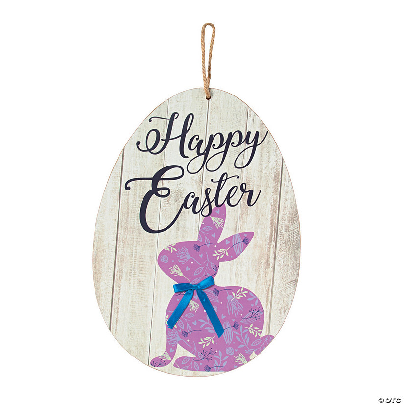 Easter Bunny Décor Sign Audio Thumbnail