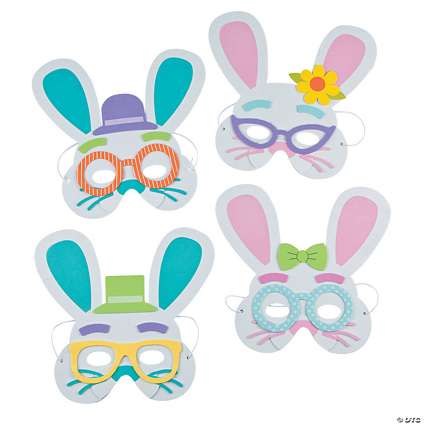 Easter Bunny Mask Craft Kit Audio Thumbnail