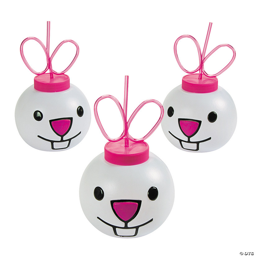 Easter Bunny Molded Cups with Straws Audio Thumbnail