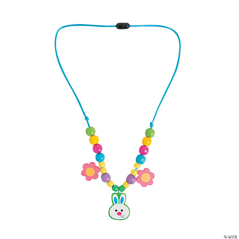 Easter Bunny Necklace Craft Kit