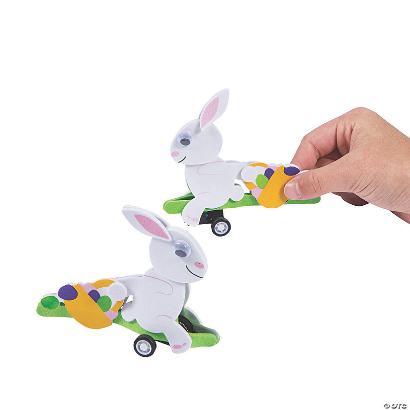 Easter Bunny Pull-Back Toy Craft Kit Audio Thumbnail