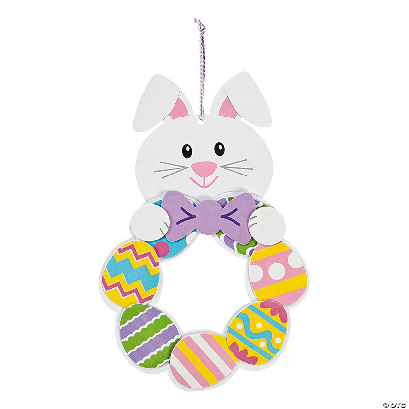 Easter Bunny Wreath Craft Kit Image Thumbnail