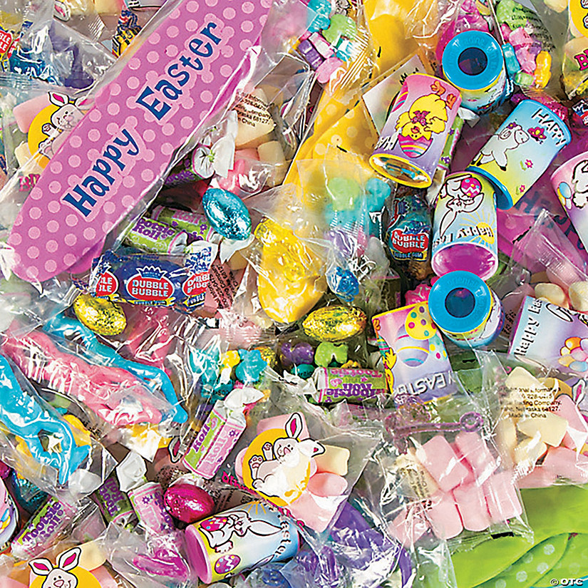Easter Candy & Toy Assortment - 218 Pc. Image Thumbnail