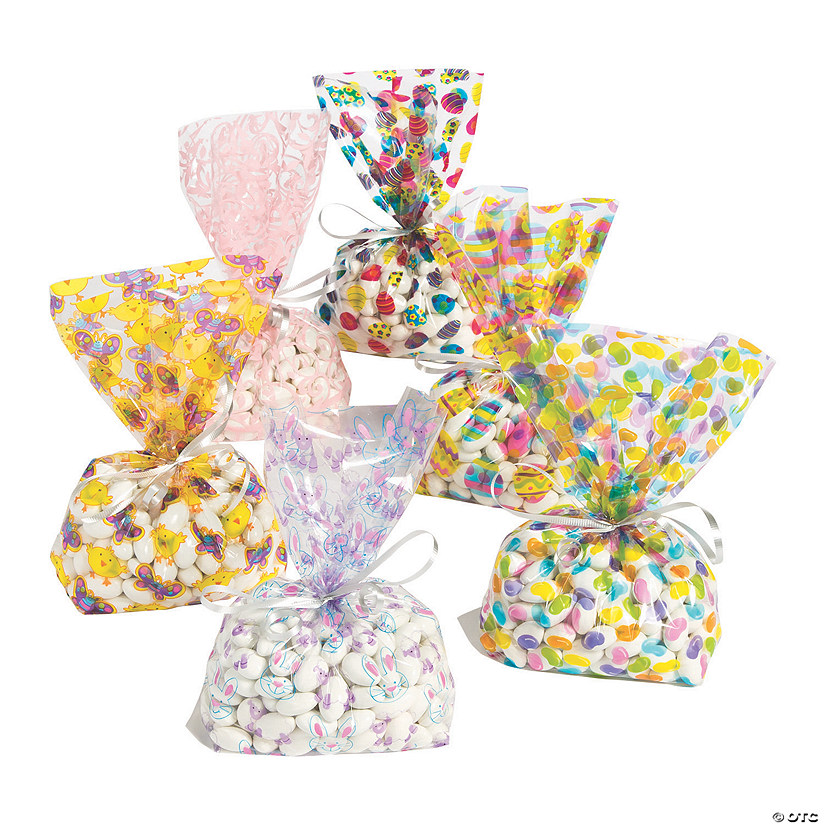 Easter Cellophane Bag Assortment Image Thumbnail
