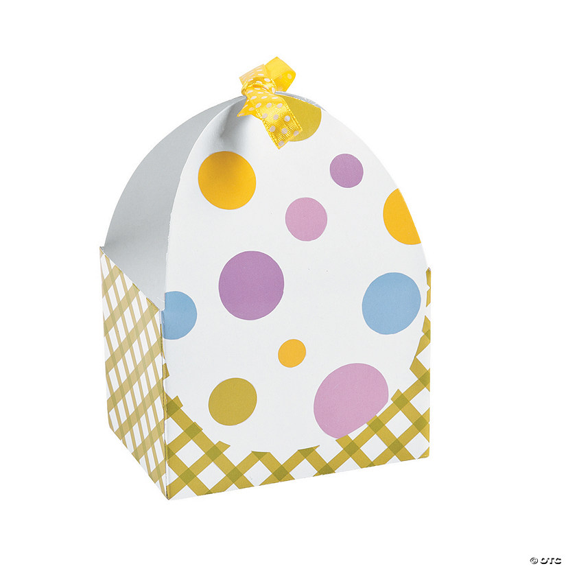 Easter Egg Favor Boxes