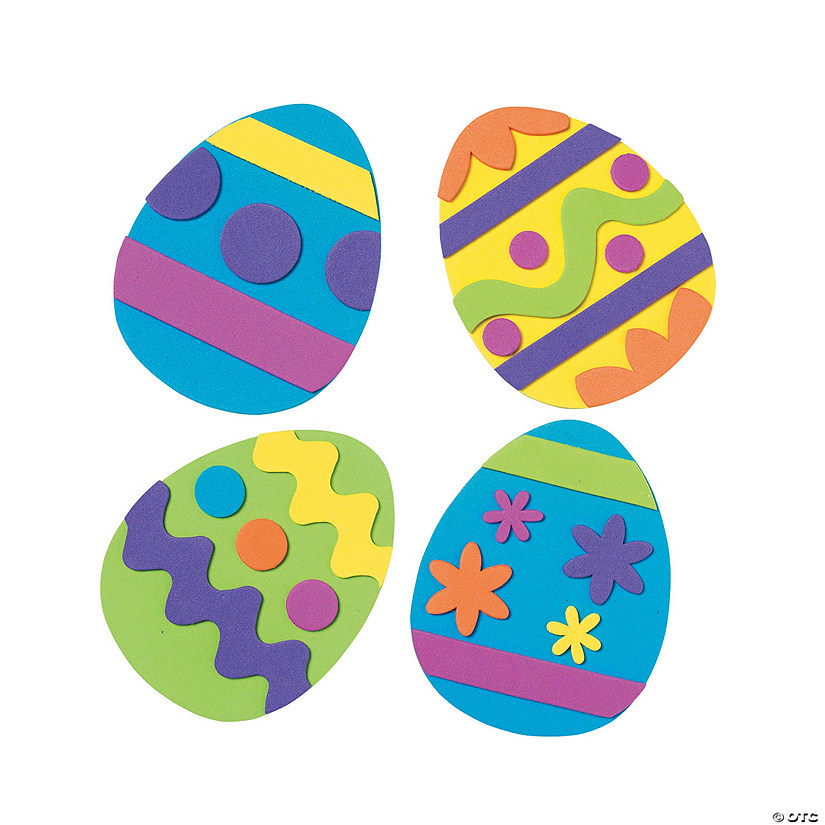 Easter Egg Magnet Craft Kit Image Thumbnail