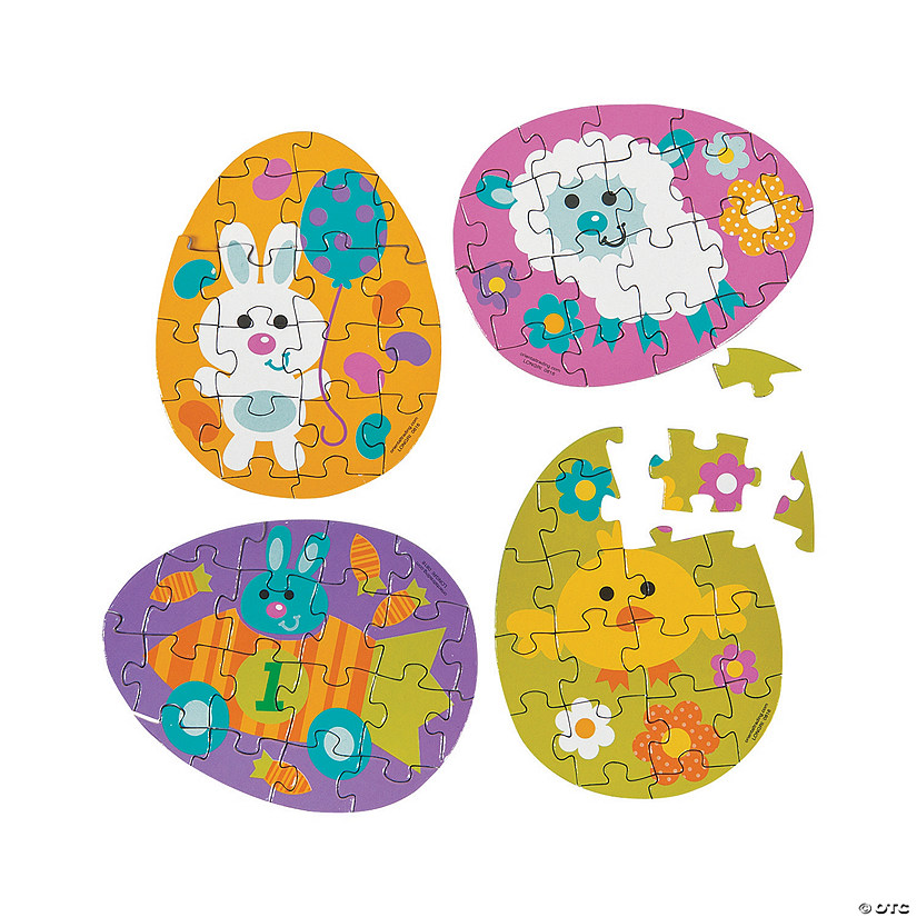 Easter Egg Mini Puzzles