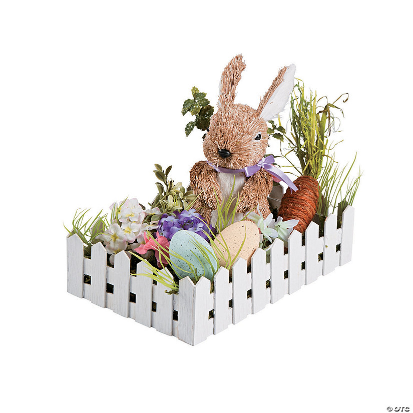 Easter Garden Table Decoration Image Thumbnail