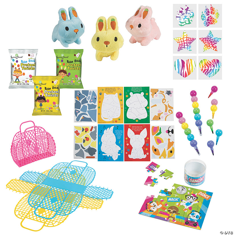 Easter Jelly Tote Value Kit for 12 Image Thumbnail